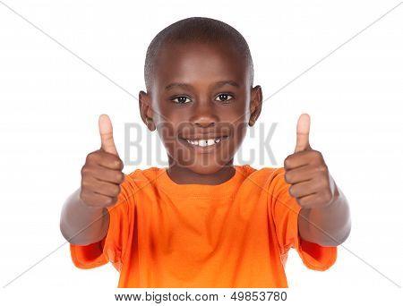 Lindo niño africano