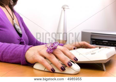Trabajo con la computadora