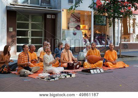 Members of Hare Krishna
