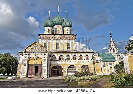 Resurrection Cathedral In Tutaev, Russia