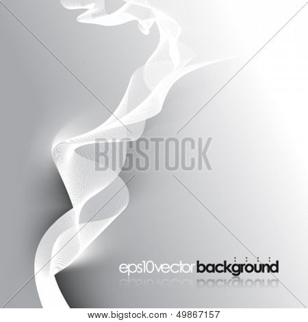 eps10 vector smoke concept business background