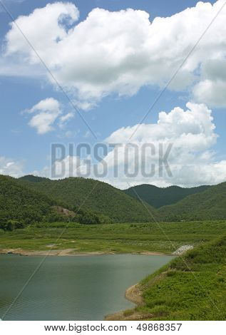 Mountain Scenery Natural Forest.