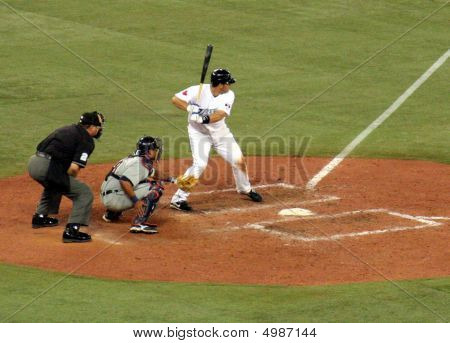 Rod Barajas At The Plate