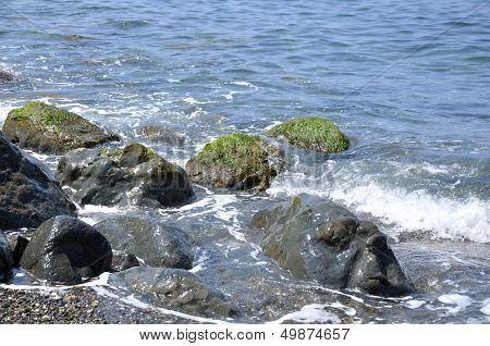 Seascape, Rock