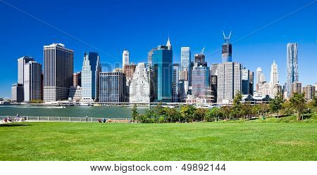 Manhattan From Brooklyn Bridge Park