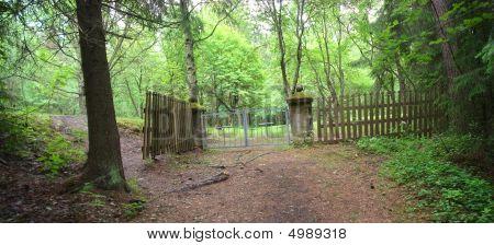Cemetary Gates