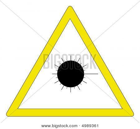 Laser Caution
