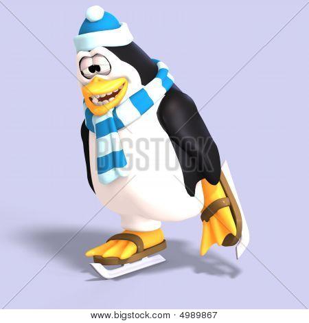 Male Toon Penguin
