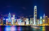 Hong Kong landmark poster