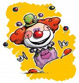 picture of circus clown  - Cartoon - JPG