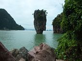 foto of kan  - a beautiful view of an island in Thailand - JPG