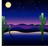 image of peyote  - Background with American landscape  - JPG