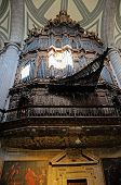 picture of pipe organ  - A historic pipe organ in Cathedral Church Metropolitana Mexico City - JPG