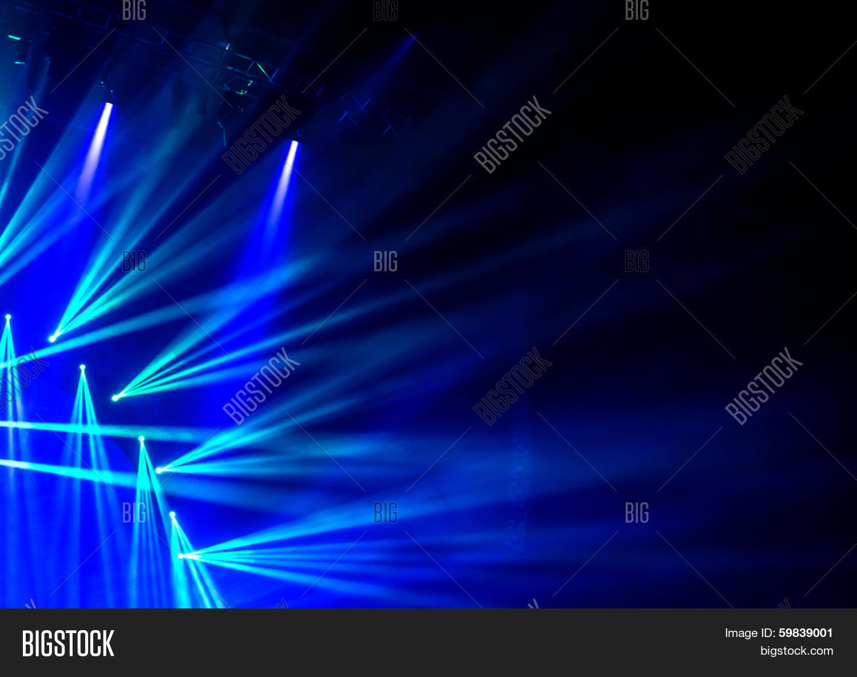 Pics photos rock concert background - Blue Stage Light Abstract Background Illuminated Dance Club Night Performance Laser Illumination