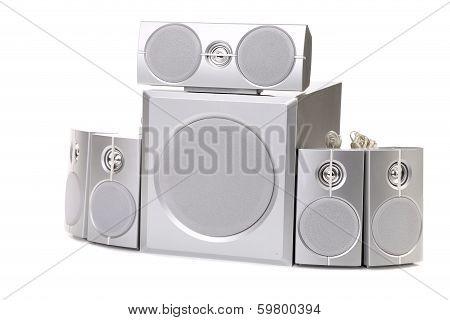 Speaker system.