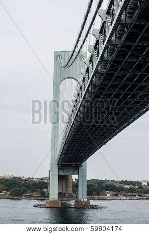 Verrazano Bridge at Angle