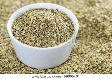 Shredded Oregano