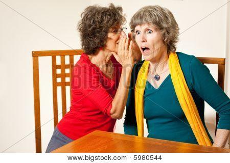 Seniors with shocking gossip