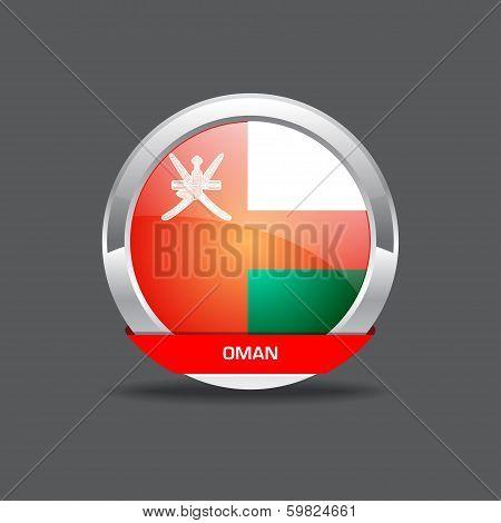 Oman Flag Vector Icon