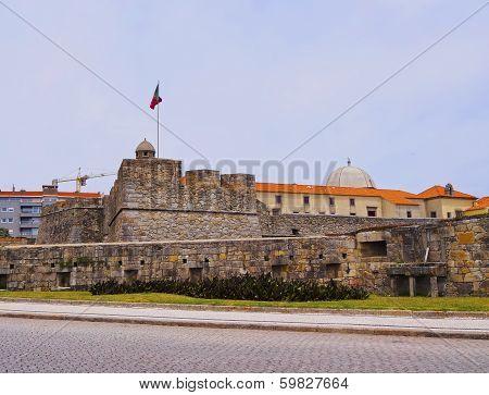 Sao Joao Baptista Fortress In Porto