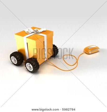 Gift Shopping In Orange