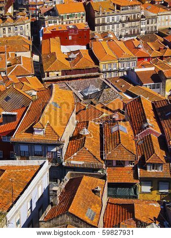 Red Roofs Of Porto