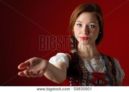 Polish Folk Woman