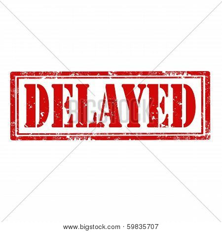 Delayed-stamp