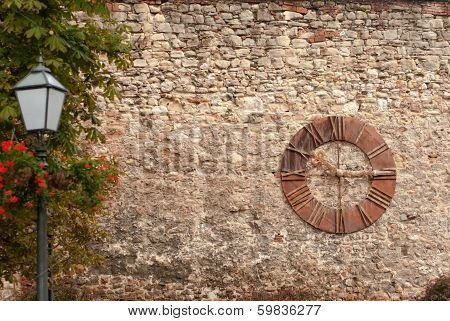 Old Clock In Zagreb