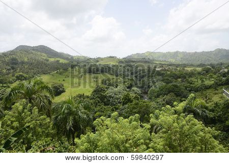 Mountains In The Dominican Republic