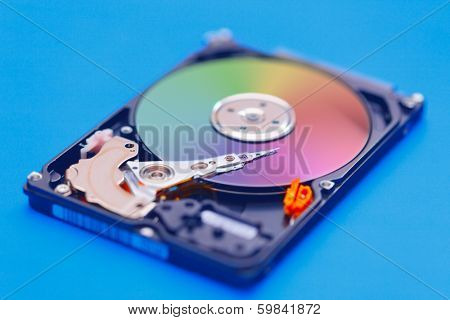 Open HDD storage device