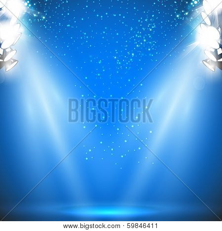 Stadium Reflector Light with Sparkling