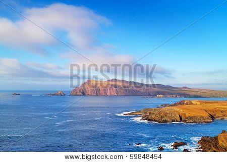 Coastline of Dingle Peninsula in Ireland