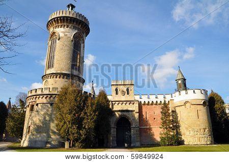 Castle Franzensburg in Laxenburg, Lower Austria, near Vienna