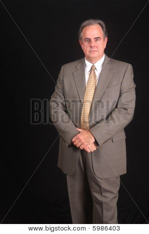 Senior Executive In A Business Suit