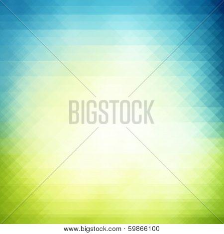 Spring Geometric  Background