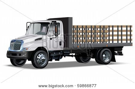 Truck flatbed