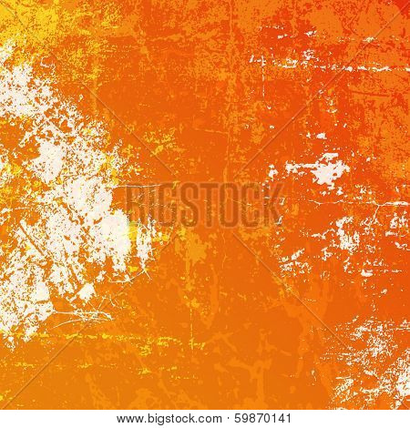 Detailed grunge background using bright colours