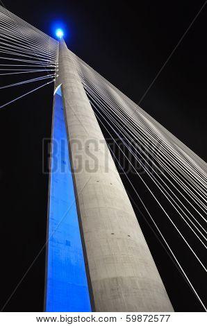 Pylon of the bridge