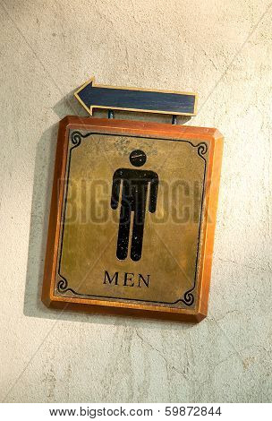 Bathroom Male Symbols