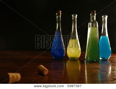 Bottled colours