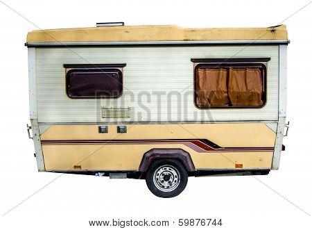 Retro 70S Caravan