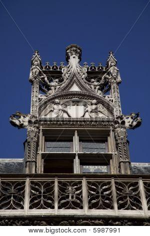 Details Of Cluny Museum In Paris