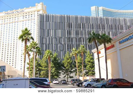 Ultramodern Buildings Hotels In City Center Las Vegas