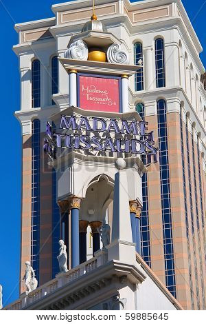 Madame Tussauds In  Las Vegas.