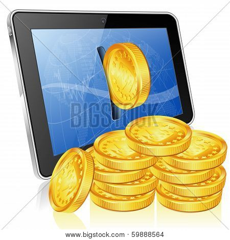 Financial Concept - Make Money On The Internet