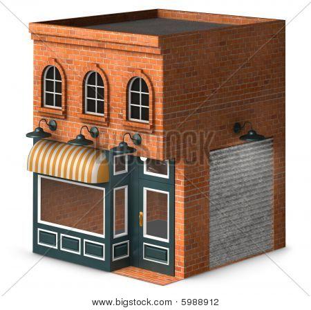 Frente de tienda