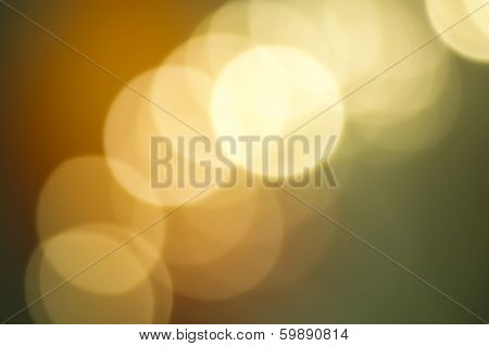 Copper And Verdigris Colored Abstract Background With Bokeh