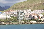 pic of canary-islands  - The Island Tenerife seen from Seaside - JPG