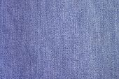 stock photo of indigo  - Classical Indigo Jeans Cloth Pattern close - JPG
